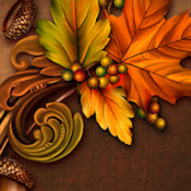 THANKSGIVING WEB SET 10525-'THANKSGIVING BLESSINGS'