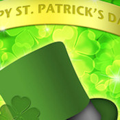 ST. PATRICK'S DAY WEB SET 10462-'HAPPY ST. PATRICK'S DAY!'